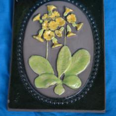 TABLOU CERAMICA BASORELIEF HAND MADE - SEMNATA, JIE SUEDIA - Arta Ceramica