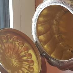 Bomboniera argint antic masiv baroc, Zaharnita