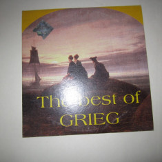 Cd the best of grieg - Muzica Clasica a&a records romania