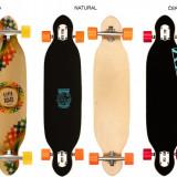 Longboard Criss Cross natural - Skateboard