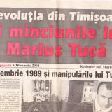 """Raritate bibliografică """"Revoluția din Timișoara și minciunile lui Marius Tucă"""""""
