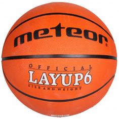 Layup Minge baschet Meteor portocaliu n. 7, Marime: 7