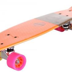 Flip Plastic Pennyboard, 22,5in portocaliu