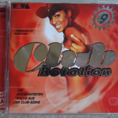 CLUB ROTATION 9 - 2000 - 2 C D Originale ca NOI, CD, sony music