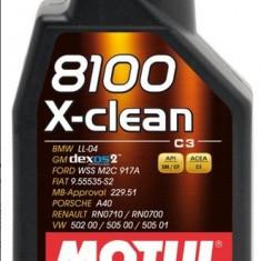 Ulei motor Motul 8100 X-CLEAN 5W40 5L