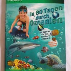 Album cartonase colectie Merkur In 80 Tagen durch Ozeanien, cu animale marine