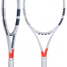 Pure Strike 100 2017 Racheta tenis de camp Babolat L4, SemiPro, Adulti, Aluminiu/Grafit