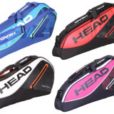 Tour Team 3R Pro 2017 Racket Bag negru-rosu