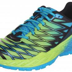 Hoka Clayton 2 Pantofi alergare barbati verde-albastru UK 8 - Incaltaminte atletism