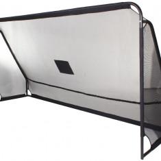 Plasa poarta + tinte Poarta Fotbal Merco cu panza, 360x180x100cm