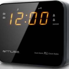Radio cu ceas MUSE M-175 CR Negru - Aparat radio
