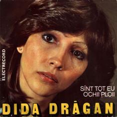 Dida Dragan – Ochii Ploii (EP - Romania - VG) - Muzica Folk Altele, VINIL