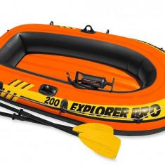 Set Explorer Pro 200 Barca gonflabila - Caiac Canoe