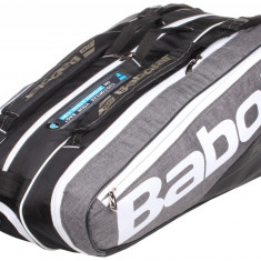 Pure Line x9 2017 Racket Bag negru-gri
