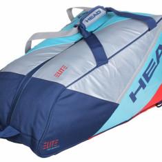 Elite 9R Supercombi 2017 Racket Bag gray-turquoise - Geanta tenis Head
