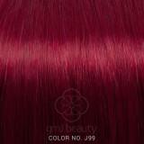 Extensii Tape-In rosu violet par natural 20 buc 50 cm - Extensii par