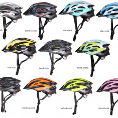 MV29 Casca ciclism alb-verde L