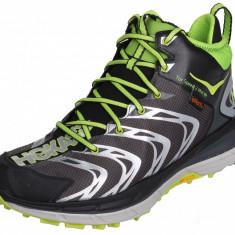 Tor Speed 2 Mid WP Mens Running Shoes negru-verde UK 9,5