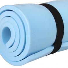 Saltea pentru dormit sau exercitii 90x50x0,8cm albastru