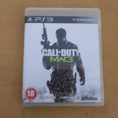 Joc original Call of Duty Modern Warfare 3 playstation 3 PS3 - Jocuri PS3 Activision, 18+