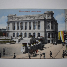 CP2017 - Bucuresti - Cercul Militar - Carte Postala Banat dupa 1918, Circulata, Printata