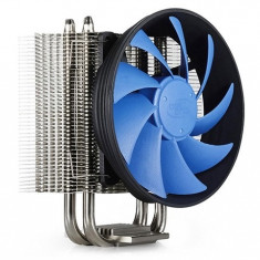 COOLER DEEPCOOL CPU, universal, soc. LGA2011/1366/115x/775 & FMx/AMx/940/939/754, 4x heatpipe, 130W - Cooler PC