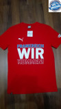 TRICOU ORIGINAL 100%  PUMA WIR   din Germania  bumbac -M-, Maneca scurta, Din imagine