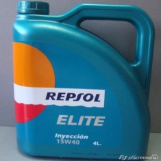 Ulei motor Total REPSOL Elite Injection 15W40 4L