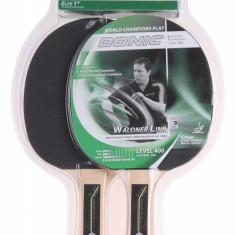 Waldner 400 Paleta tenis de masa set - Paleta ping pong Donic