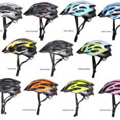 MV29 Casca ciclism alb-galben L