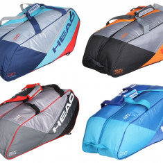 Elite 9R Supercombi 2017 Racket Bag albastru-albastru - Geanta tenis Head