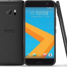 HTC 10 Carbon Gray 4G+ LTE + carcasa protectie Spigen - Telefon HTC, Gri, 32GB, Neblocat