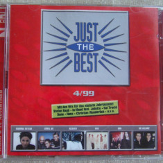 JUST THE BEST 4/ 1999 - 2 C D Originale ca NOI - Muzica Dance sony music