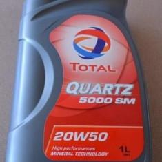 Ulei motor TOTAL QUARTZ 5000 20W50 1L
