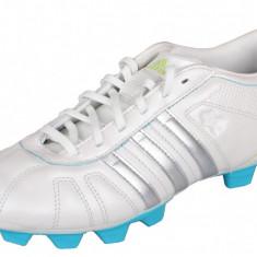 adiNova IV TRX FG Incaltaminte fotbal pentru copii alb-albastru UK 5,5