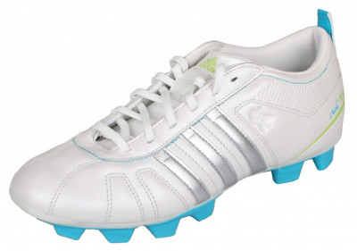 adiNova IV TRX FG Incaltaminte fotbal pentru copii alb-albastru UK 5,5 foto