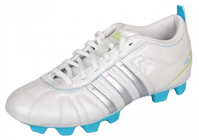 adiNova IV TRX FG Incaltaminte fotbal pentru copii alb-albastru UK 5,5 foto mare