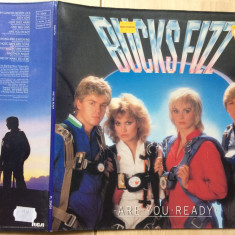 Bucks Fizz Are You Ready album disc vinyl lp Muzica Pop rca records rock 1982 RCA germany, VINIL