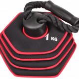 Kettlebell Neoprene Ajustabil 10 kg