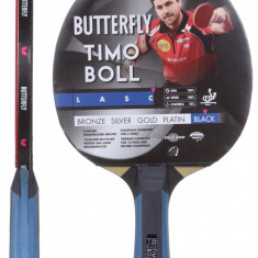Boll Black 17 Table Tennis Paddle - Paleta ping pong Butterfly