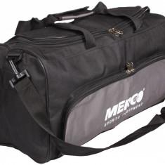 Geanta sport 102 50x25x21cm negru-gri, Merco