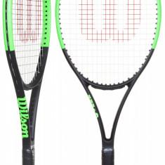 Blade 101L 2017 tennis racket G0 - Racheta tenis de camp Wilson, Performanta, Adulti, Aluminiu/Grafit