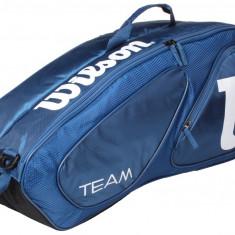 Team II 6 2016 Geanta tenis Wilson albastru