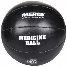 Minge medicinala piele neagra piele naturala, fabricata manual 6 kg - Minge Fitness Merco