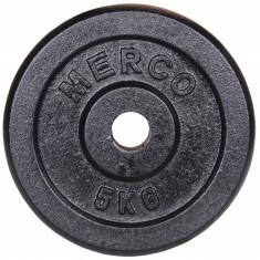 Disc gantera Metal, 31mm 2 kg Merco, Discuri greutati