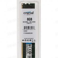 Rami desktop Crucial 8GB DDR3,, 1600MHz, CL11 CT102464BD160B - Memorie RAM