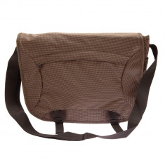 Geanta de umar notebook Halfar, textil, Maro - Geanta Barbati, Geanta tip postas