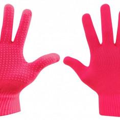 Manusi tricotate pink L-XL