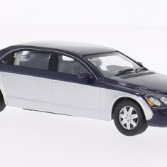 Macheta Maybach 62 - 2009 Whitebox scara 1:43 - Macheta auto