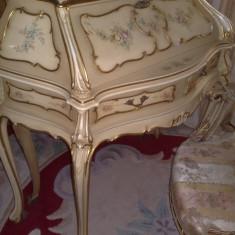 Secretaire/birou dama/mobila baroc venetian/mobilier de arta/anticariat, Birouri si secretari, 1900 - 1949